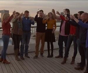 De TV van gisteren: Ontknoping Boer Zoekt Vrouw Internationaal boeit ruim 4 miljoen kijkers