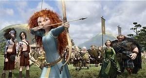 Stoere prinses met vuurrode krullen zorgt voor chaos in Brave