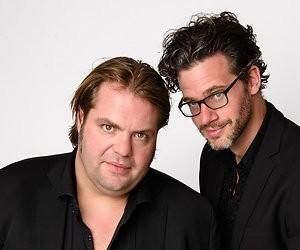 Frank Evenblij en Erik Dijkstra zoeken naar de Olympus voor Bureau Sport