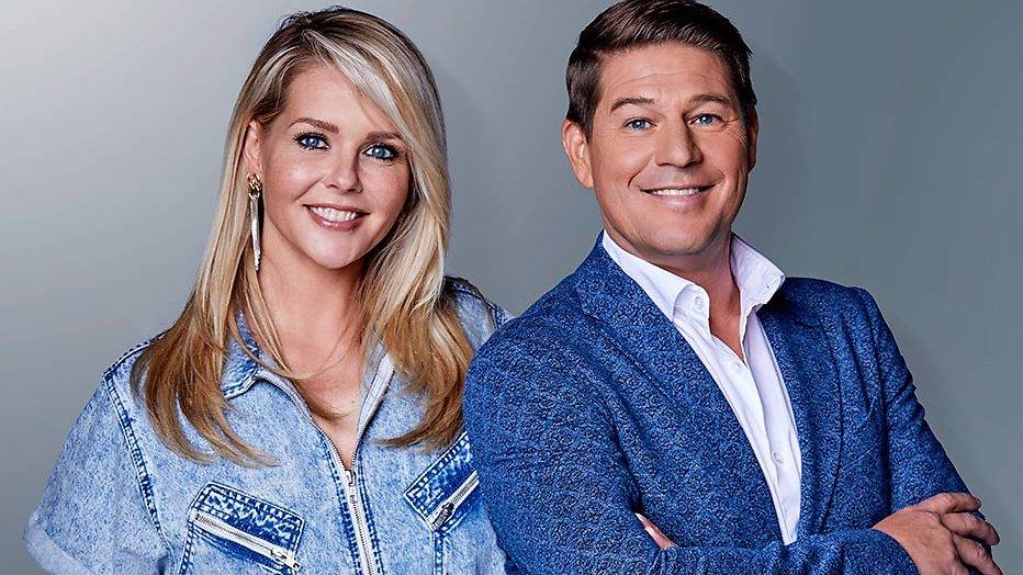 Wendy van Dijk en Martijn Krabbé
