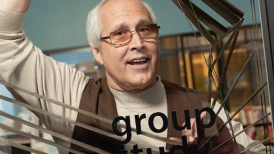 Chevy Chase keert terug in Community