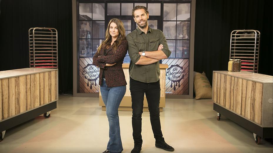 Miljuschka Witzenhausen maakt Chocoladeshow voor RTL