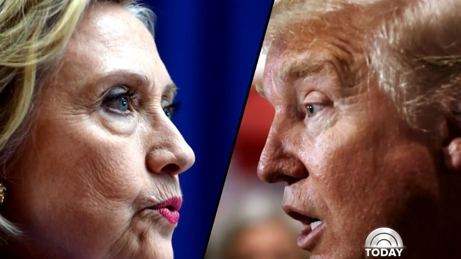 Clinton vs Trump vannacht live op RTL Z