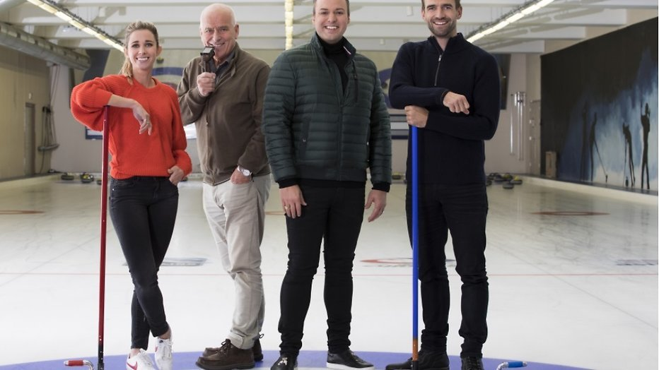 Frans Bauer presenteert De Curling Quiz
