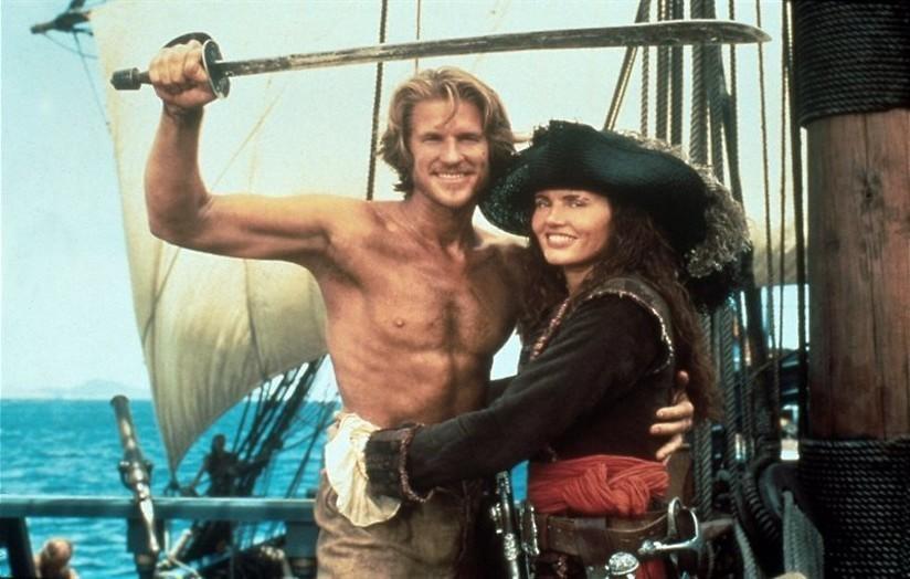 Geena Davis op piratenavontuur