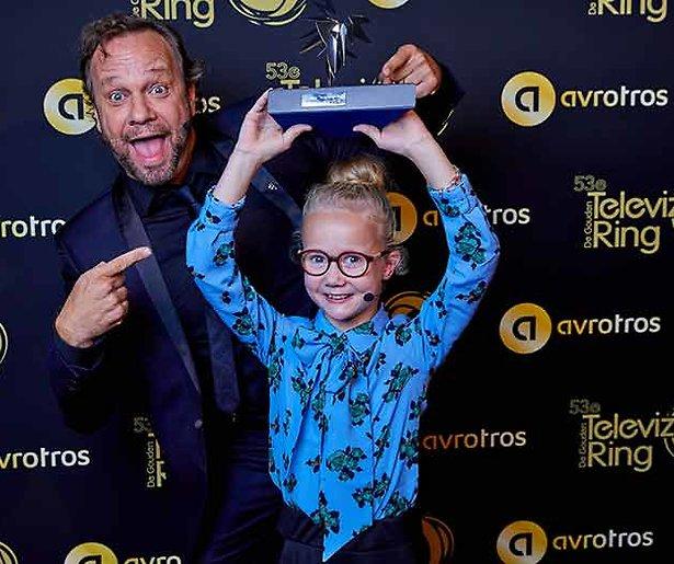 Chantal Janzen wint Zilveren Televizier-Ster Presentatrice