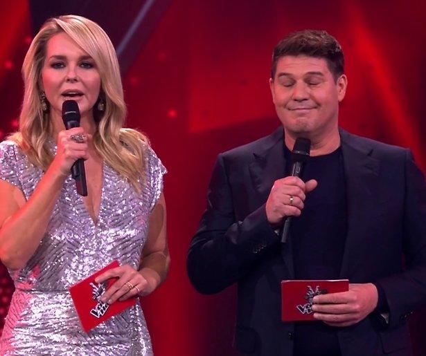Kijkers bezorgd om Chantal en Martijn tijdens kwartfinale Voice of Holland
