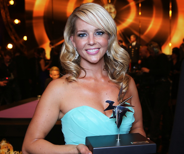 Chantal Janzen wint de Zilveren Televizier-Ster Vrouw 2014