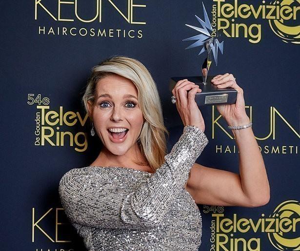 Chantal Janzen wint Televizier-Ster Presentatrice 2019