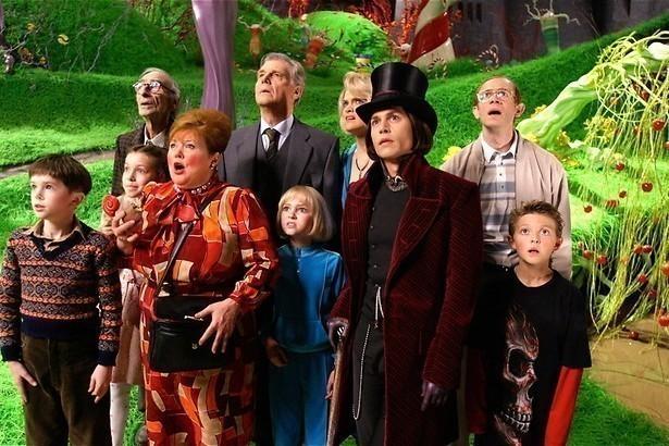 Johnny Depp en de chocoladefabriek