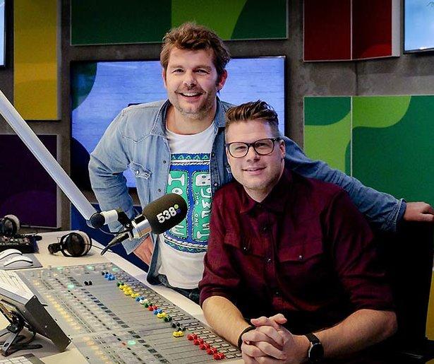 Coen Swijnenberg helemaal terug bij Radio 538 na burn-out