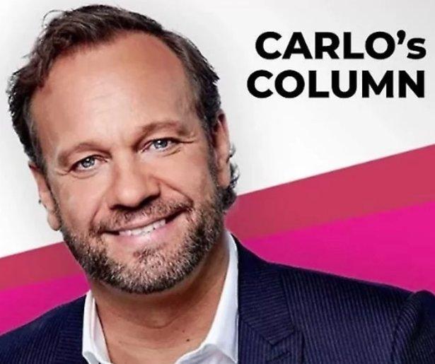 Carlo had het moeilijk met de TV Kantine