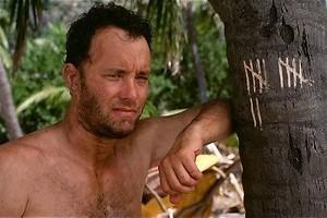 De volleybal van Tom Hanks