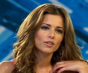 Cheryl Cole krijgt striptease bij X-Factor