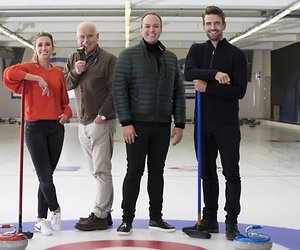 Frans Bauer presenteert De Curling Quiz