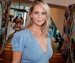 Chantal Janzen maakt grapje in bikini