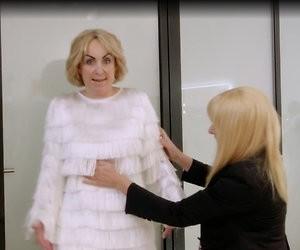 Heerlijke nieuwe beelden MAFS-Chantal in de TV Kantine
