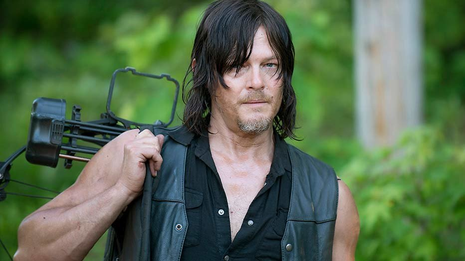 Daryl Dixon over The Walking Dead