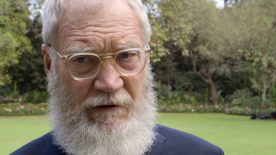 """David Letterman: """"Trump heeft een steekje los"""""""