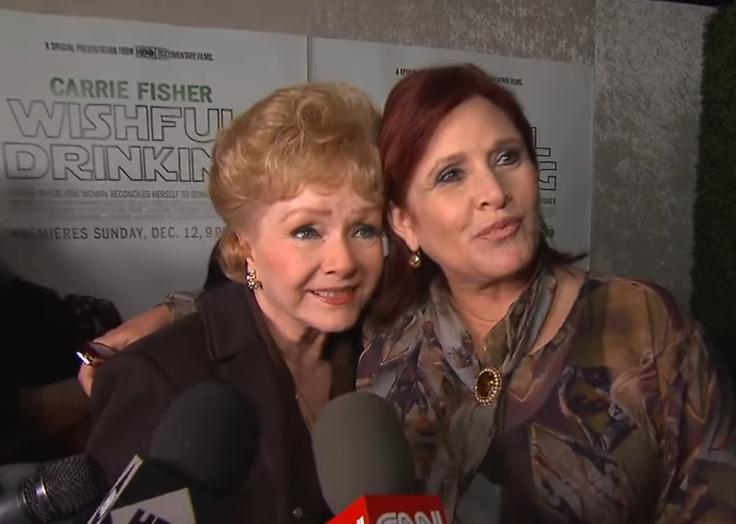Carrie Fisher en Debbie Reynolds samen begraven