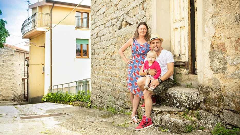 Brenda en Diederik over hun leven in Ollolai