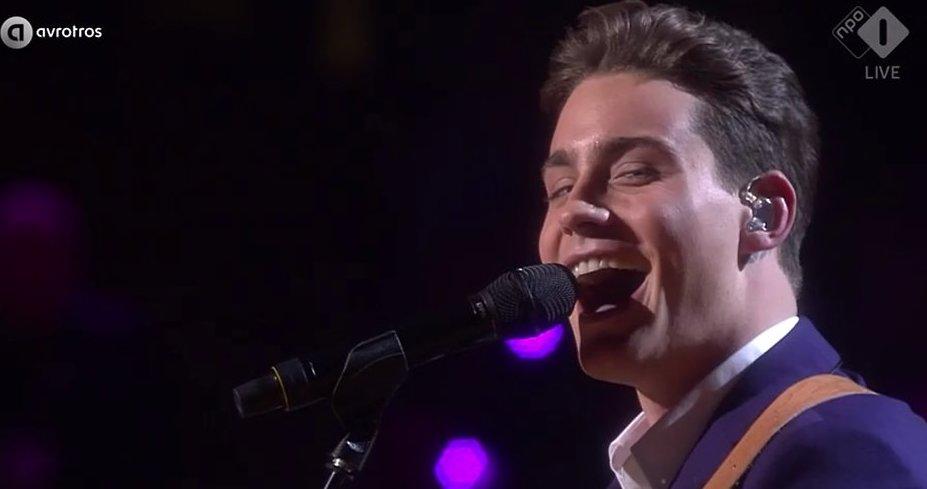 De TV van gisteren: 4.3 miljoen zien Douwe Bob in finale Songfestival
