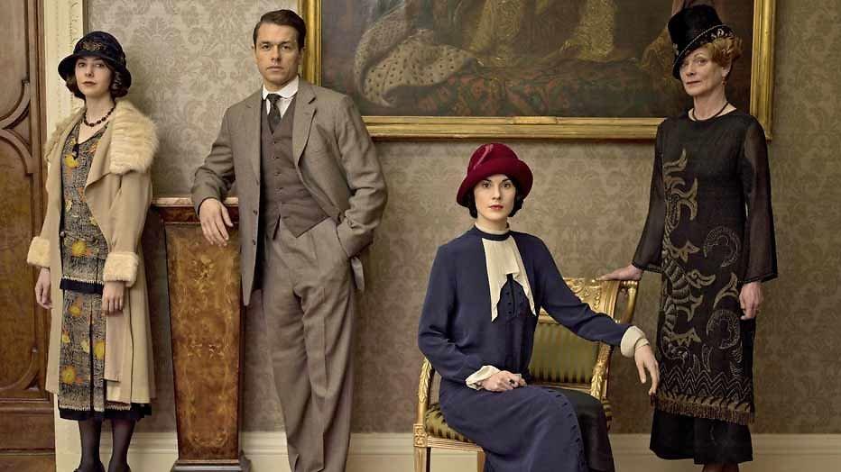 Spannende FB-post Downton Abbey
