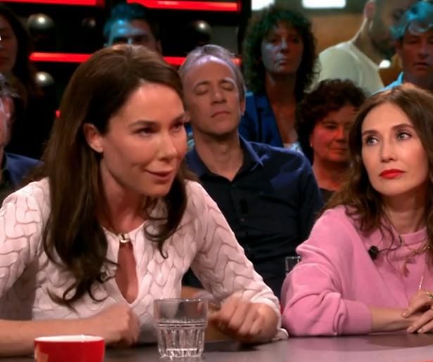 'Reclamespot' film Halina Reijn bij DWDD valt niet zo lekker