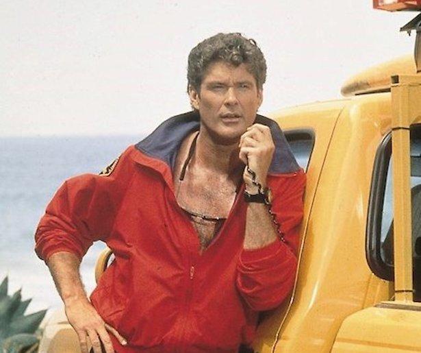 David Hasselhoff rol in Baywatch-film