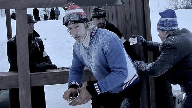 Chris Zegers gaat een eind schaatsen