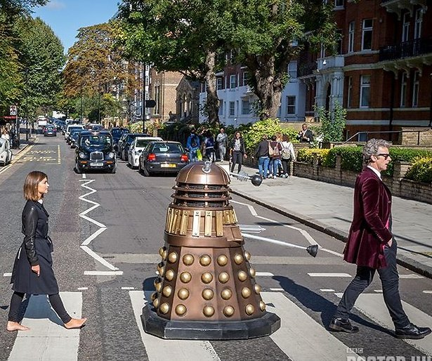 YouTube-hit: Doctor Who Abbey Road fotoshoot in record tempo