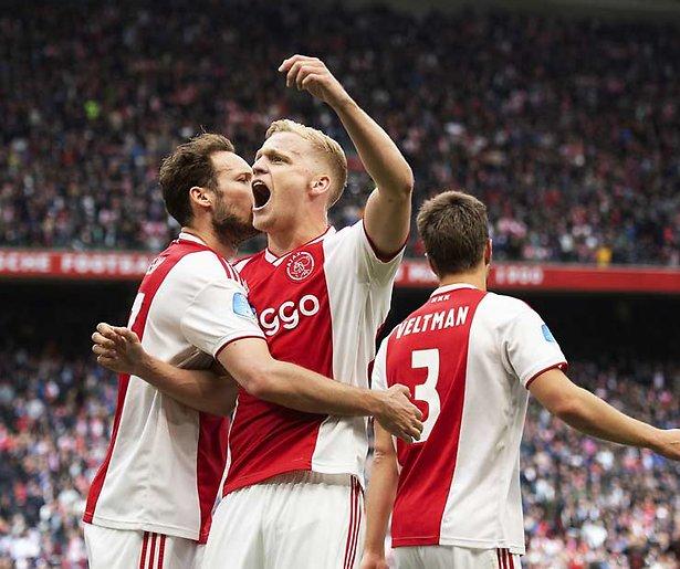 Ajax - PAOK dinsdag weer gratis op Ziggo