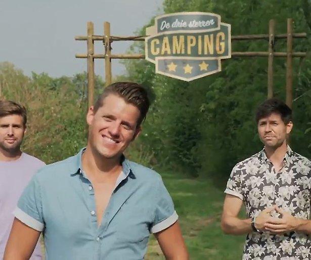 Nick, Simon en Kees maken De 3 Sterren Camping