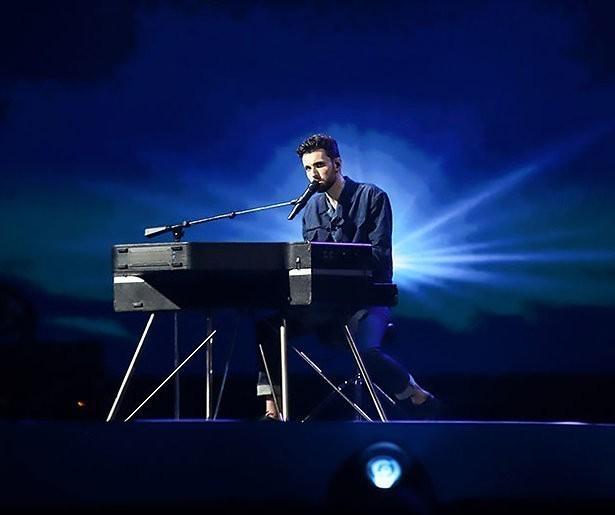 Duncan in 2de halve finale Eurovisie Songfestival