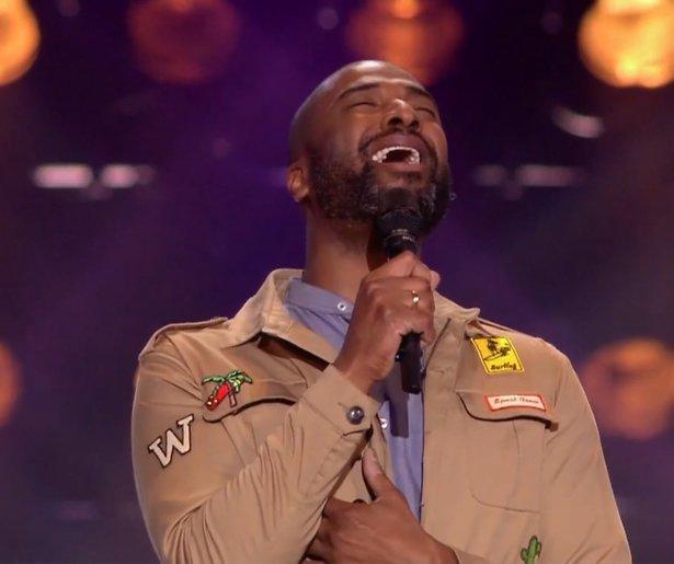 Videosnack: Dwight Dissels zingt Boyz II Men tijdens de Blind Auditions