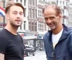 Videosnack: Dave en Donny zetten zwerver in het zonnetje