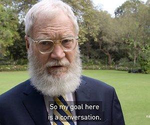Letterman strikt Obama voor maandelijkse Netflix talkshow