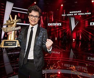 Dennis van The Voice of Holland vanavond bij RTL Late Night