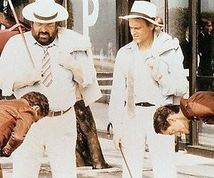 De dubbelgangers van Bud Spencer en Terence Hill