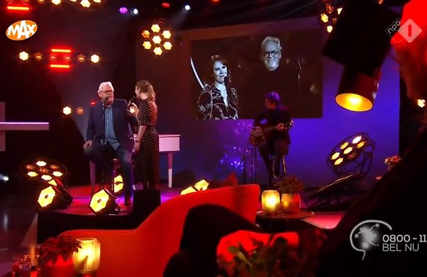 Videosnack: Ernst Daniel en dochter Coosje Smid zingen Mag Ik Dan Bij Jou