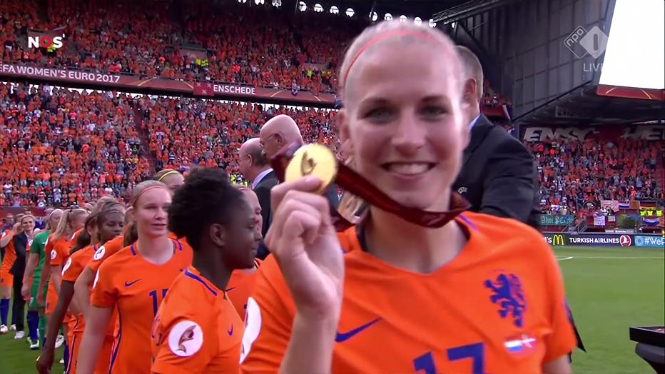 De TV van gisteren: Gouden tijden voor NPO 1 dankzij vrouwenvoetbal