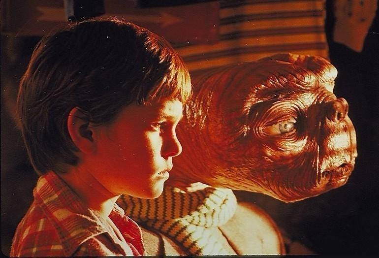 Naar huis bellen met Steven Spielberg