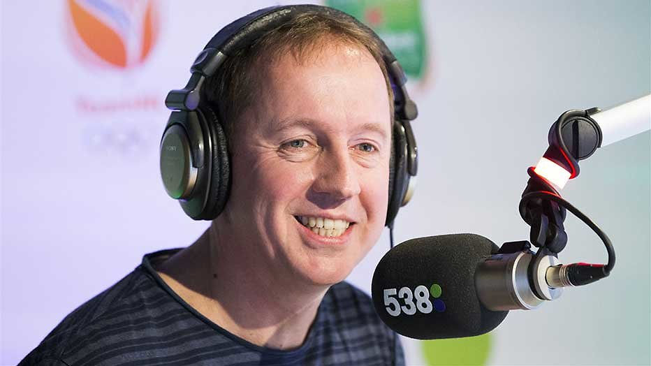 Edwin Evers stopt met zijn ochtendshow op Radio 538