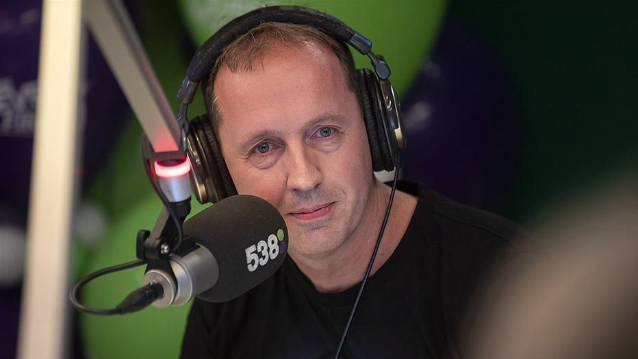 Edwin Evers kanshebber Zilveren RadioSter