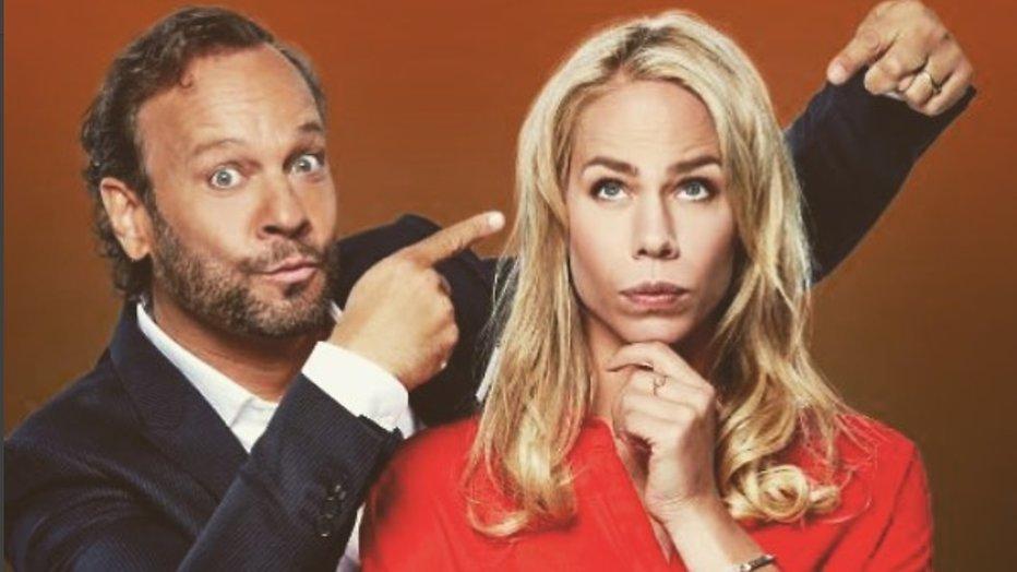 Carlo Boszhard en Nicolette Kluijver maken Een Goed Stel Hersens