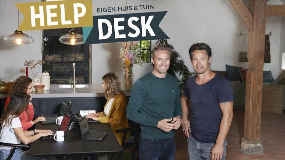 Eigen Huis & Tuin lanceert online helpdesk