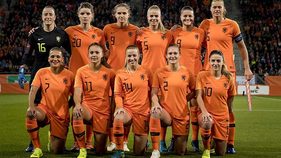Nederlands elftal vrouwen