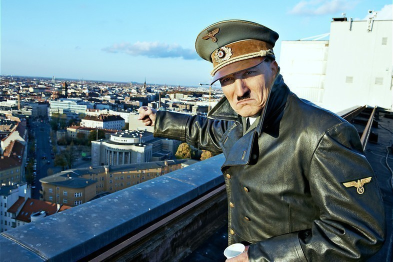 Hitler in modern Berlijn