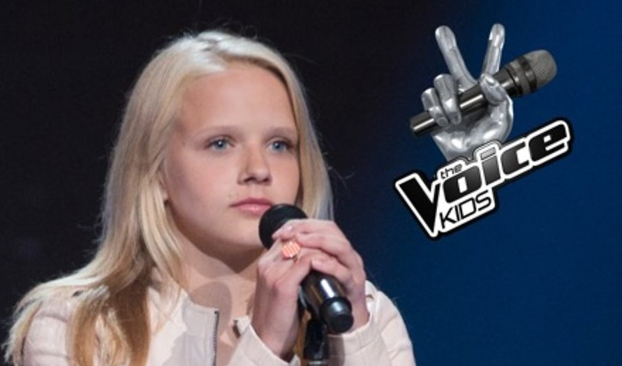 Esmée wint The Voice Kids 2016