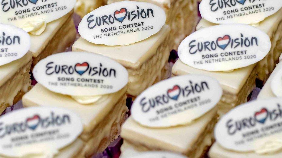 Eurovisie Songfestival gebakjes